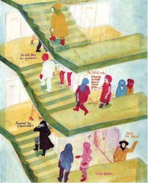 Les Noceurs - 2008-2009 encre de chine, encre aquarelle, gouache - 42 x 29 cm Réf. : Brecht100