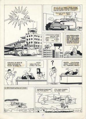 Esclaves de la seringue - 1973 encre de chine - 25 x 35 cm Réf. : Joost066 - 3500 €