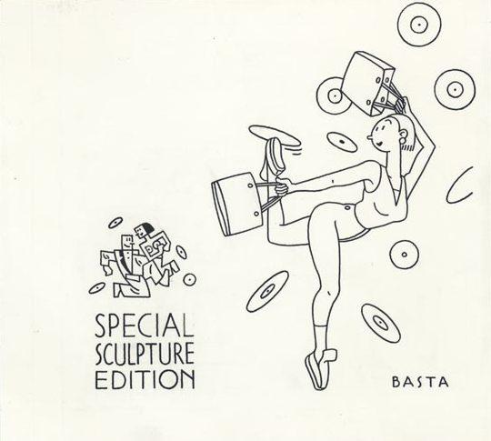 Pochette CD Soundshopping - 1998 encre de chine - 19 x 18 cm Réf. : Joost028 - 800 €
