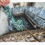 <b>Art Spiegelman & JR</b><br/>Ghosts of Ellis Island, 2015