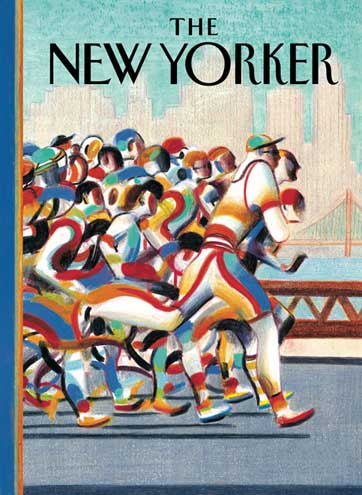 Lorenzo Mattotti, The New Yorker (cover) sérigraphie 100 exemplaires - 48 x 66 cm Réf. : lm047 - 220 €