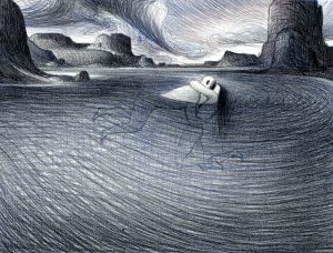 <b>Lorenzo Mattotti </b><br/>Nell'acqua (Notturno)