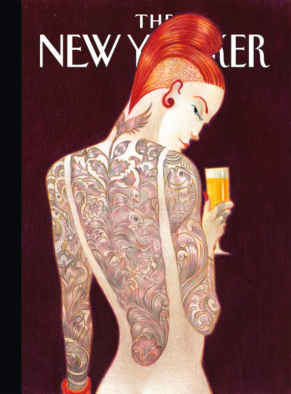 Lorenzo Mattotti, The New Yorker (cover) sérigraphie 100 exemplaires - 48 x 66 cm 220 €