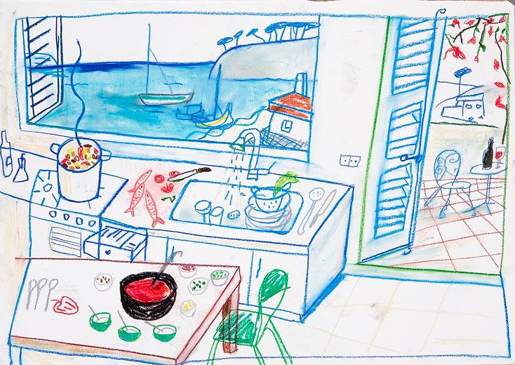 Cocina azul, 2007