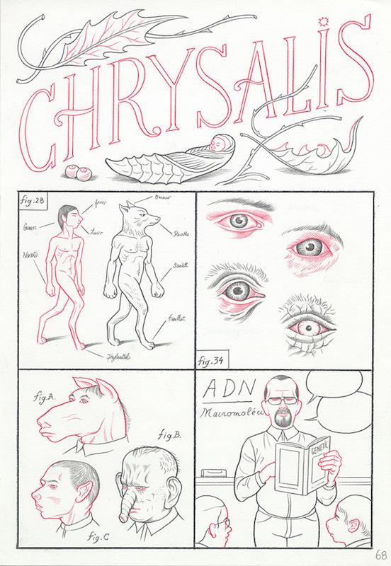 Epiphania (éd. Casterman) Tome 2, 2017 Crayon sur papier - 22 x 32 cm Réf. : debeurme20-001