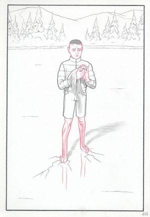 Epiphania (éd. Casterman) Tome 2, 2017 Crayon sur papier - 22 x 32 cm Réf. : debeurme20-007