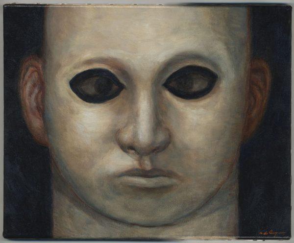 Sukekiyo - 2012 huile sur toile - 41 x 33 cm Réf. : crecy018 - 3300 €