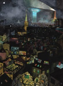 <b>Brecht Evens </b><br/>Paris, Nuit