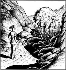 <b>Charles Burns </b><br/>Blob Girl