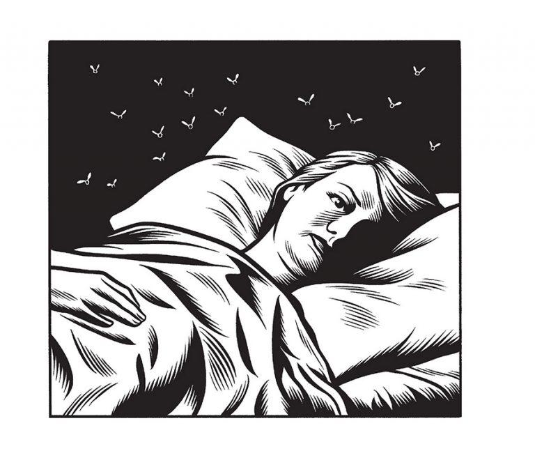 Love Nest - 2015-2016 encre sur papier - 18 x 18 cm Réf. : burns16_141