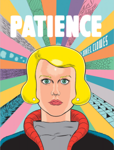 <b>Daniel Clowes </b><br/>Patience, US cover