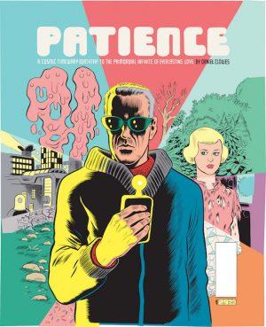 """Daniel Clowes """"Patience"""" - FR cover sérigraphie numérotée et signée - 100 exemplaires - 48 x 68 cm"""