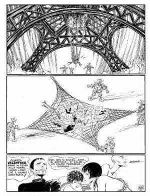 Piccolo re, 1972 - Page 10 Encre de Chine sur papier 40 cm x 50 Réf. : crepax003