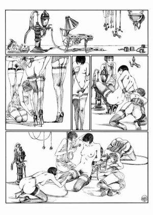 Lanterna Magica, 1976/ 77 - Page 84 Encre de Chine sur papier 40 cm x 50 Réf. : crepax015