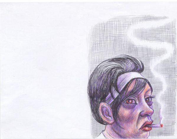 bic sur papier 28 cm x 21 cm Réf. : ferris021