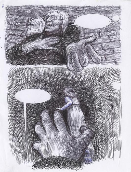 bic sur papier 21 x 28 cm Réf. : ferris054