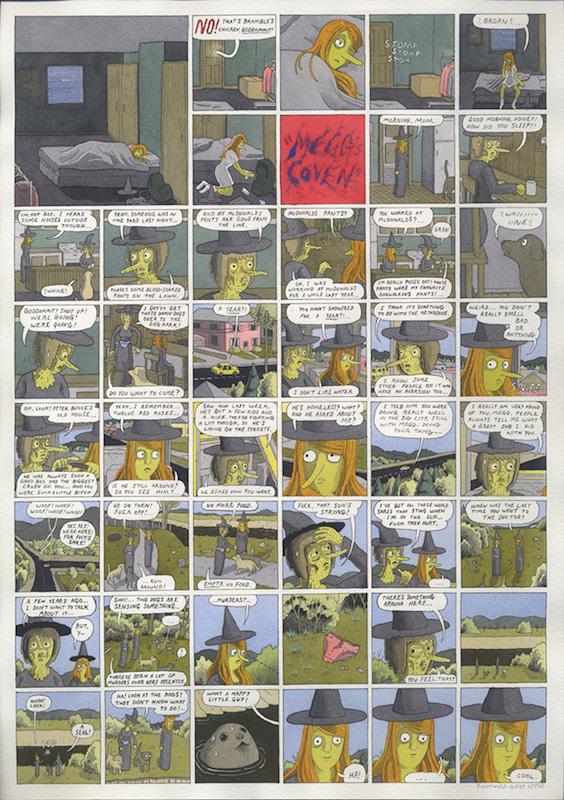 Dailies Anthology - 2012 technique mixte sur papier - 29 x 41 cm Réf. : hanselmann-005
