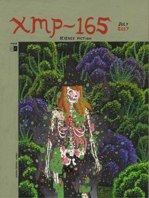 Cover for XMP-165 - 2017 technique mixte sur papier - 23 x 30 cm Réf. : hanselmann-035