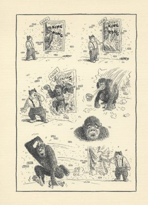 Jones encre de chine sur papier - 19 x 24 cm Réf. : matticchio021