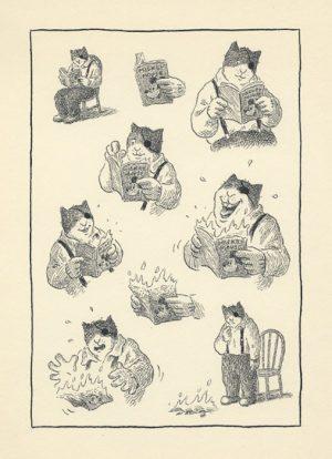 ones encre de chine sur papier - 19 x 24 cm Réf. : matticchio022