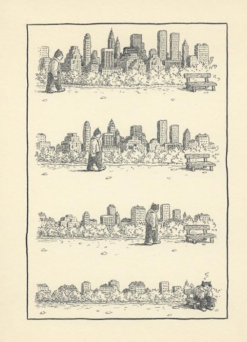 Jones encre de chine sur papier - 19 x 24 cm Réf. : matticchio023