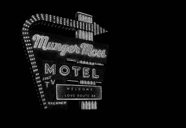 Munger Moss Motel, 1336 E Route 66, Lebanon, MO carte à gratter - 22 x 15 cm Réf. : ott022