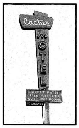 Inédit, Cactus Motel carte à gratter - 9 x 15 cm Réf. : ott074