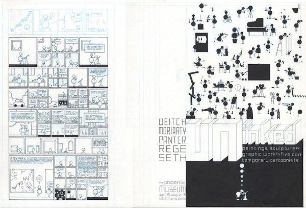 Uninked Cover - 2007 encre de chine sur papier - 29,5 x 20 Réf. : ware18_B