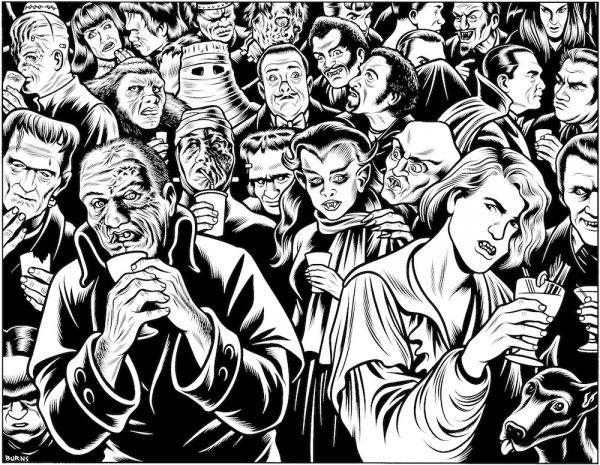 Charles Burns - Ghouls' night