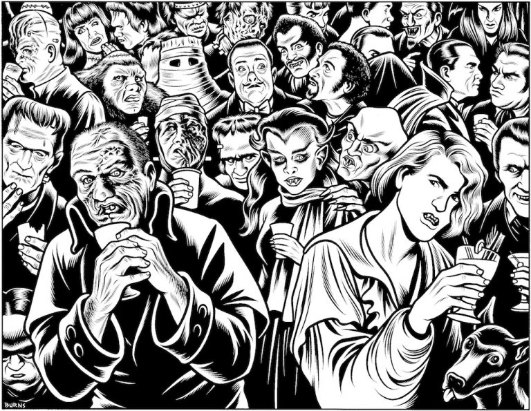 Charles Burns - Ghouls' night