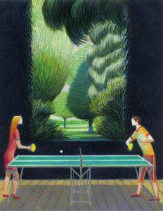 <b>Lorenzo Mattotti </b><br/>Ping-Pong