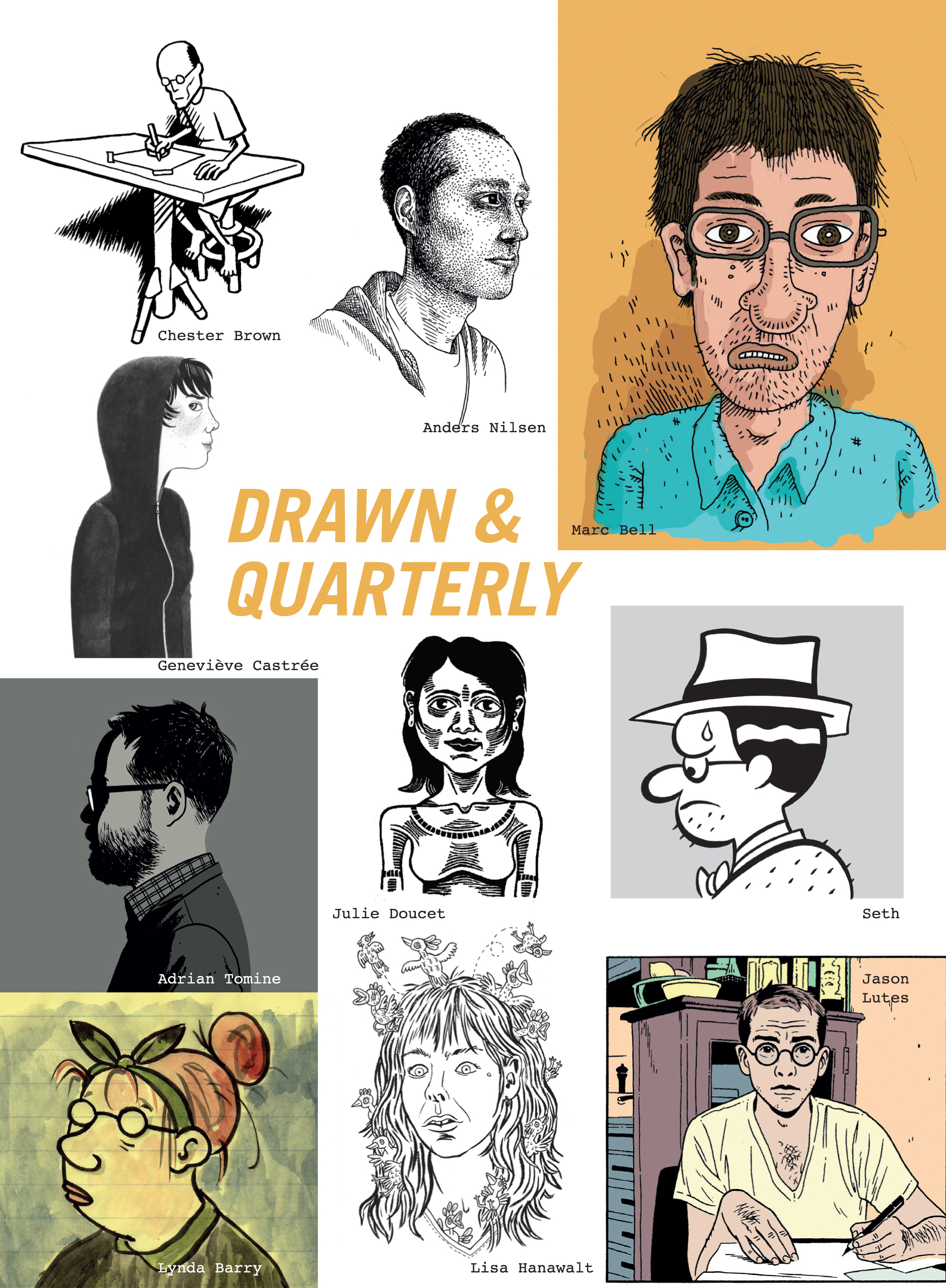 Drawn & Quarterly 2016